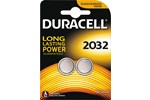 203921 - DURACELL Long Lasting 3V CR2032 - 2 Pack