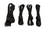 CP-8920144 - Corsair Premium Individually Sleeved PSU Cable Kit Starter Package Type 4 (Generation 3) - Black