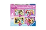 73979 - Ravensburger Disney Princess puzzle 4 in 1