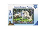 128389 - Ravensburger Mystical Unicorns 200st. XXL