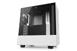 CA-H500B-W1 - NZXT H500 Matte White - Kabinet - Miditower - Hvid