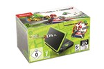 2219066 - Nintendo New 2DS XL - Black & Lime Green (Mario Kart 7 Bundle)