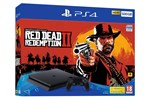 711719763116 - Sony PlayStation 4 Slim Black - 500GB (Red Dead Redemption 2 Bundle )