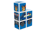 GM1079 - Geomag Magicube Paw Patrol Chase vehicle