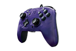 708056065713 - PDP Faceoff Deluxe Wired Pro Audio jack Camo - Purple - Gamepad - Nintendo Switch