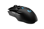 910-005673 - Logitech G903 LIGHTSPEED HERO Wireless - Gaming Mus - Optisk - 11 knapper - Sort med RGB lys