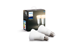 929001821605 - Philips Hue White E27 Pære - BT - 2-pak