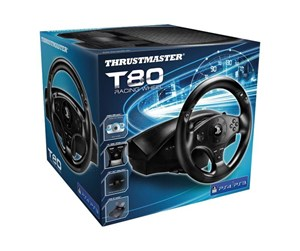 4160598 - Thrustmaster T80 PS4 Wheel - Rat & Pedal sæt - Sony PlayStation 4