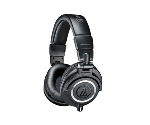 ATH-M50X  - Audio-Technica ATH-M50X - Black - Sort