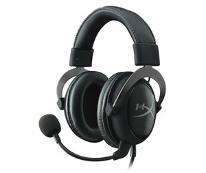 KHX-HSCP-GM - Kingston HyperX Cloud II Headset - Gun Metal - Sort