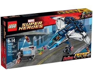 76032 - LEGO Marvel Super Heroes 76032 The Ave. Quinjet City Chase - 76032