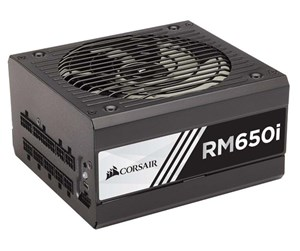 CP-9020081-EU - Corsair *DEMO* RM650i Gold - 650W PSU Strømforsyning - 650 Watt - 135 mm - 80 Plus Gold certified