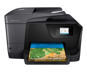 D9L18A#A80 - HP Officejet Pro 8710 All-in-One Blækprinter Multifunktion med Fax - Farve - Blæk