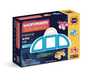 MAG-63146 - Magformers My First Buggy Car Blue - 14 pcs