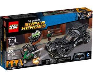 76045 - LEGO DC Comics Super Heroes Kryptonite Interception - 76045