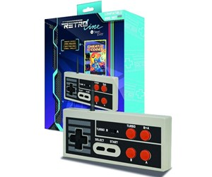 3760210999095 - Steelplay Retro Line Edge Gamepad Mini NES - Gamepad - Nintendo NES