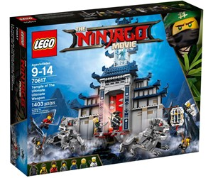 70617 - LEGO Ninjago Temple of the Ultimate Ultimate