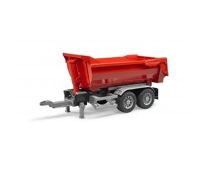 3923 - Bruder Halfpipe trailer for trucks