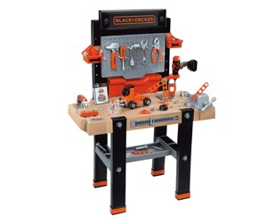 SM-360702 - Smoby & Decker Work Bench Black