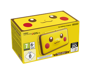0045496504700 - Nintendo New 2DS XL Pikachu Edition