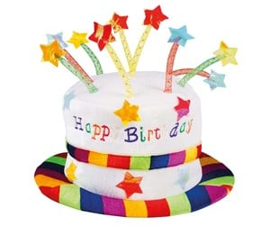 00932 - - Unknown Hat Happy Birthday
