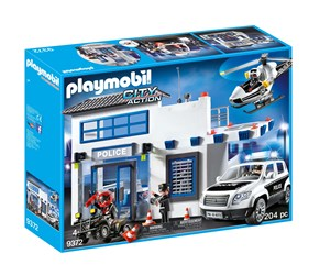 9372 - Playmobil - City Action - Politistation
