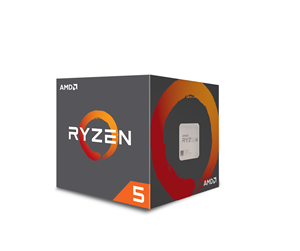 YD260XBCAFBOX - AMD Ryzen 5 2600X with Wraith Spire - Pinnacle Ridge CPU - 3.6 GHz - AMD AM4 - 6 kerner - AMD Boxed (PIB - med køler)