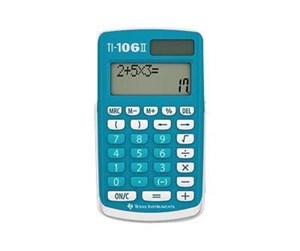 TI-106 II - Texas Instruments TI-106 II - pocket calculator