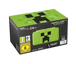 0045496504885 - Nintendo New 2DS XL - Creeper Edition (inkl. Minecraft 3DS)