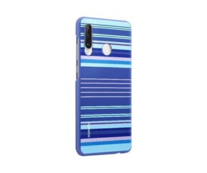 51993075 - Huawei P30 Lite Colorful-TPU Case - Blue Lines
