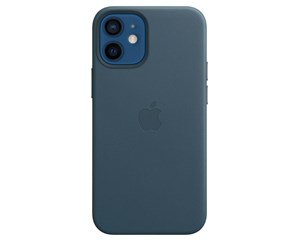 MHK83ZM/A - Apple iPhone 12 mini Leather Case with MagSafe - Baltic Blue