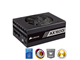 CP-9020087-EU - Corsair AX1600i Strømforsyning - 1600 Watt - 140 mm - 80 Plus Titanium certified
